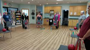 Seated Gentle Fit - Balance component