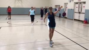 2019 Women's Fitness Fun 50+ Warm up